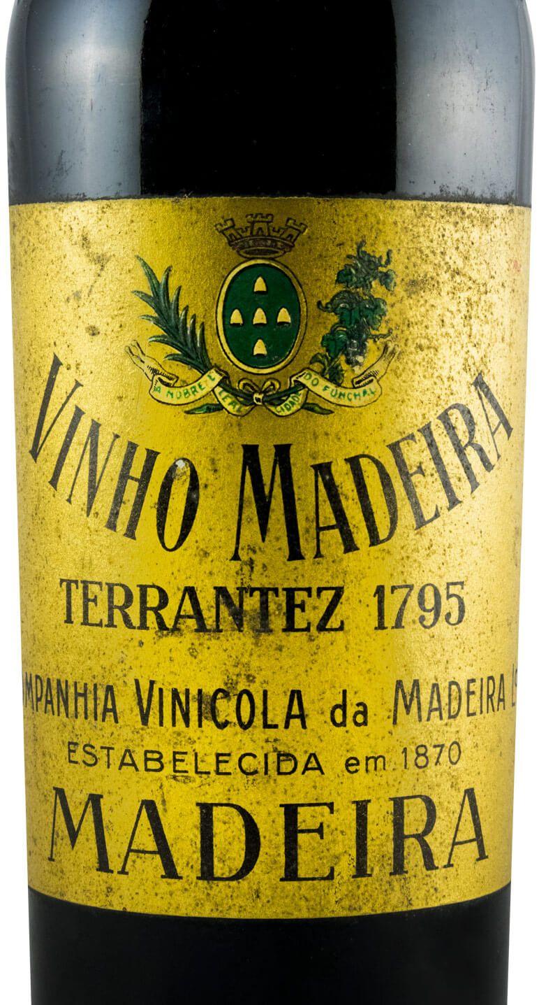 1795 Madeira Companhia Vinícola da Madeira Terrantez