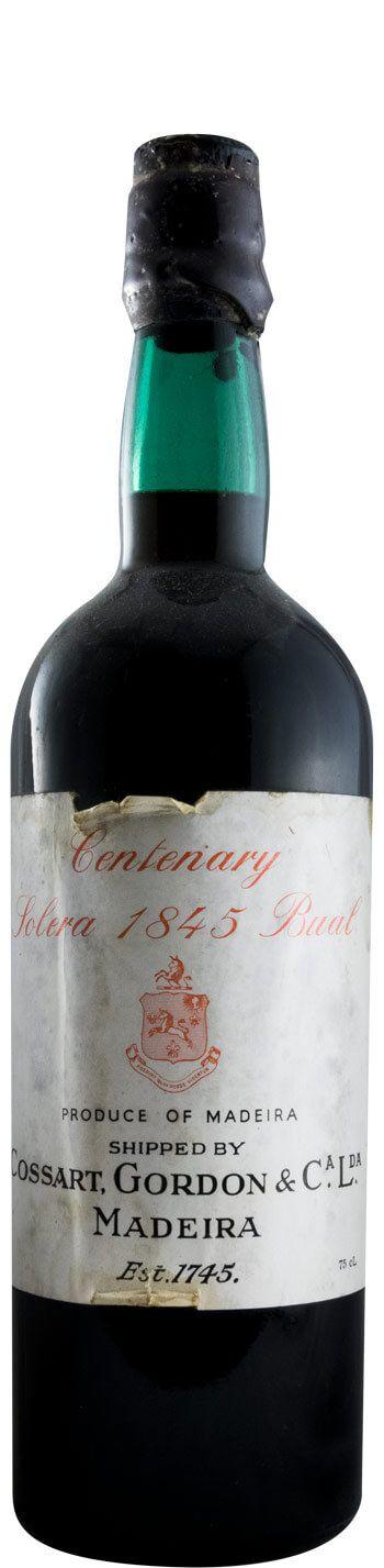 1845 Madeira Cossart Centenary Bual Solera