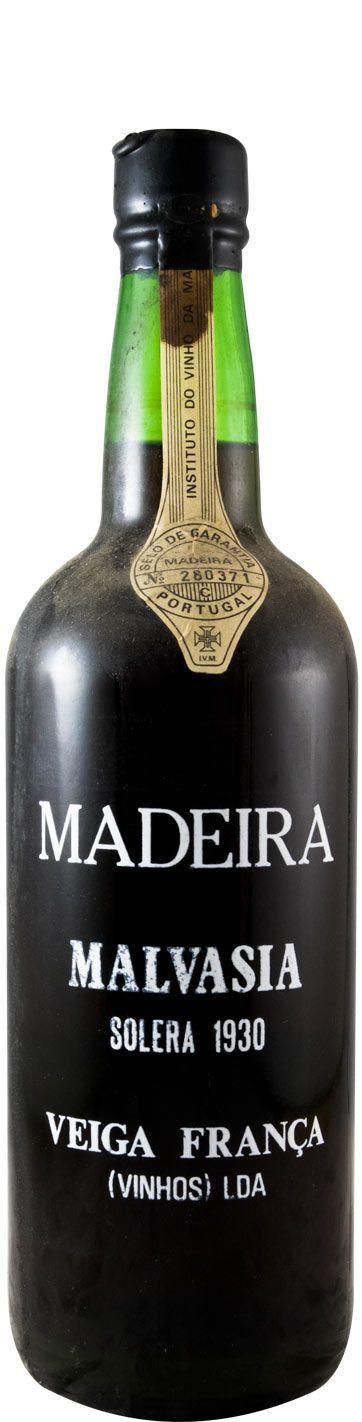 マルヴァジア・ソレラ・ヴェイガ・フランサ マデイラ 1930年