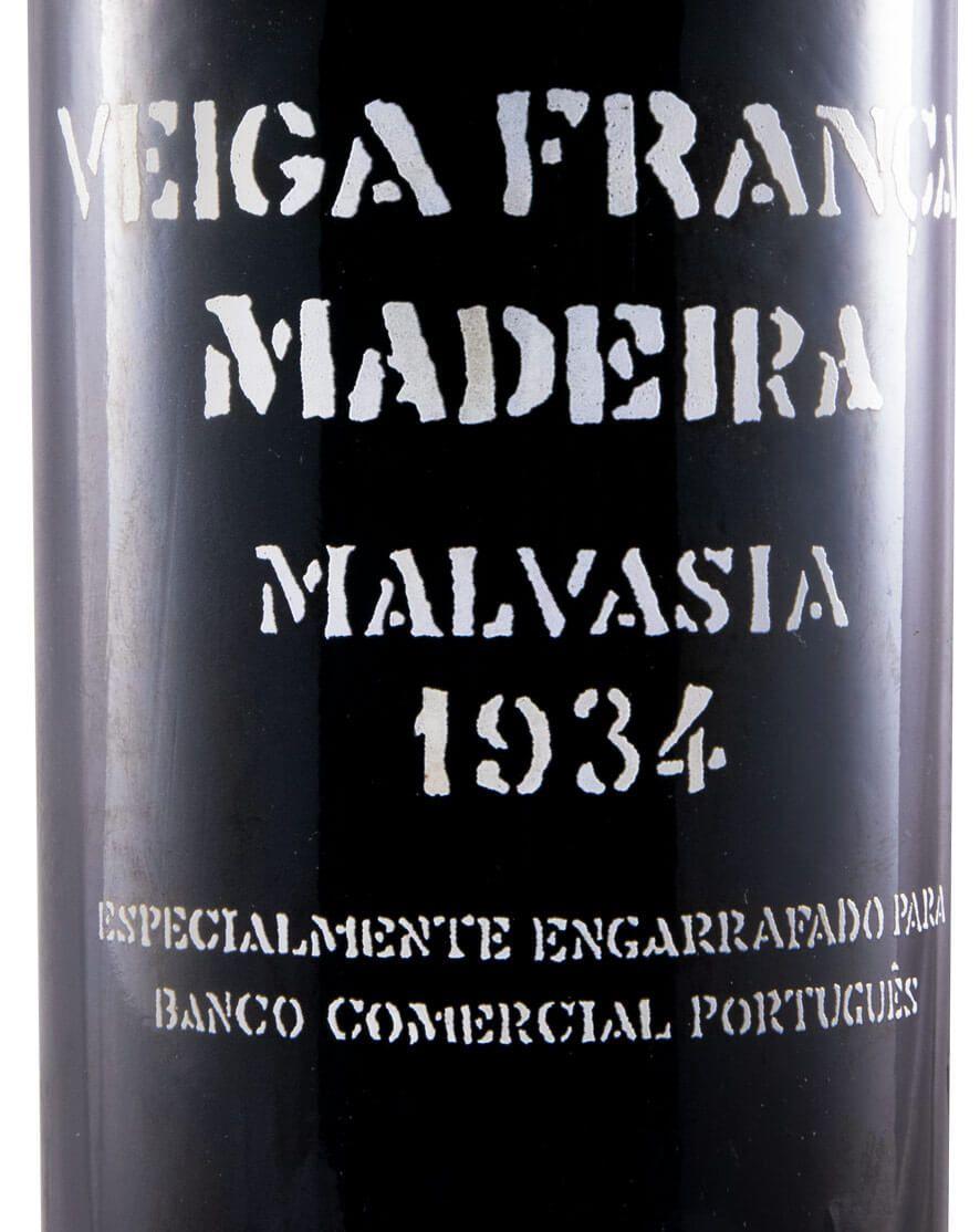 マルヴァジア・ヴェイガ・フランサ BCP マデイラ 1934年