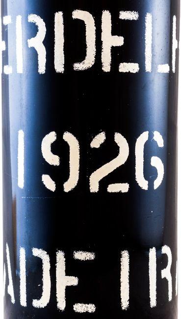1926 Madeira Barbeito Verdelho