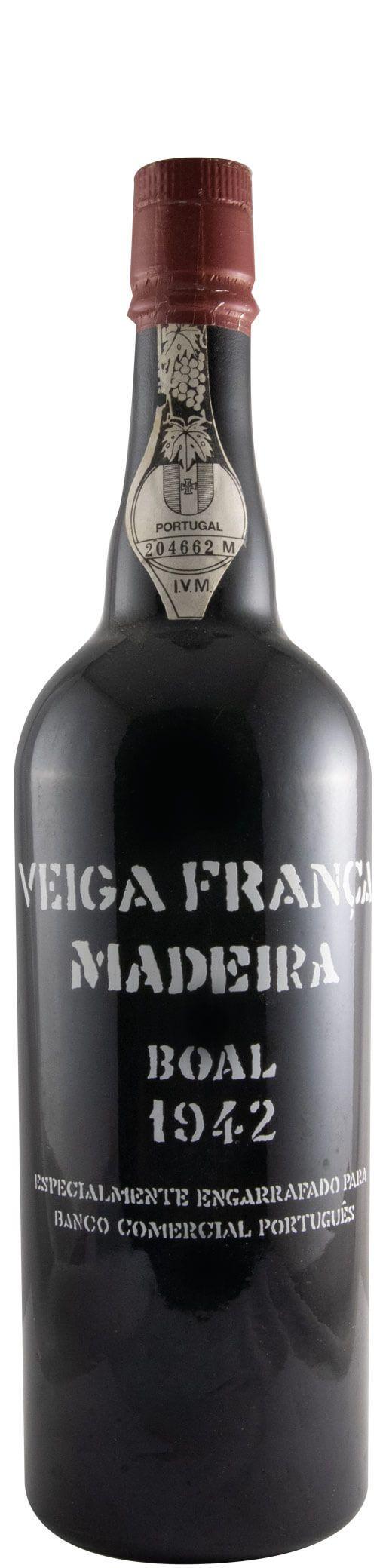 ボアル・ヴェイガ・フランサ ED.BCP マデイラ 1942年