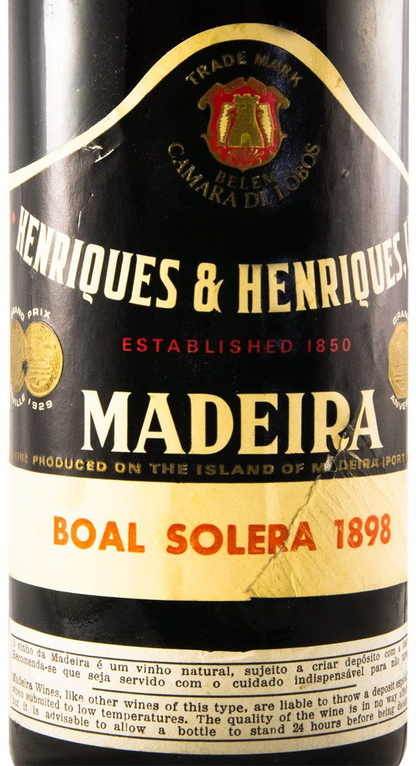 1898 Madeira Henriques & Henriques Boal Solera