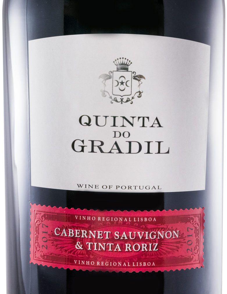 2016 Quinta do Gradil Cabernet Sauvignon & Tinta Roriz tinto 5L