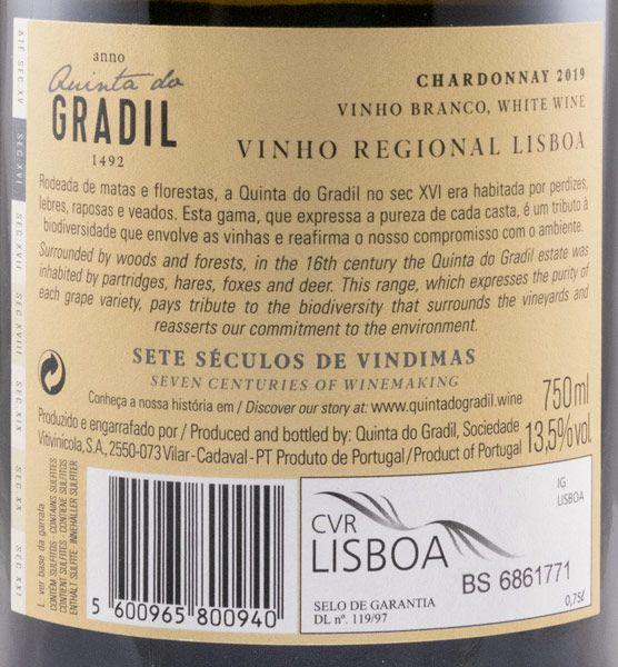 2019 Quinta do Gradil Chardonnay branco