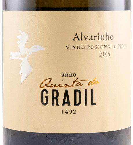 2019 Quinta do Gradil Alvarinho branco