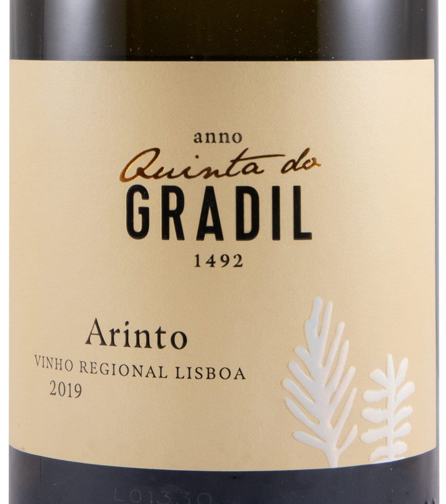 2019 Quinta do Gradil Arinto branco