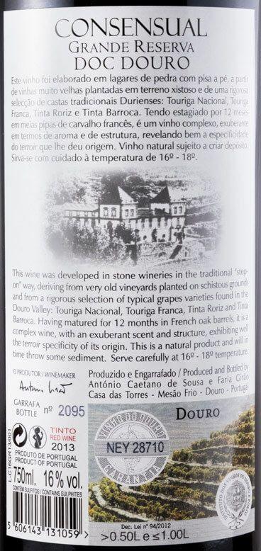 2013 Casa das Torres Consensual C16 Grande Reserva tinto