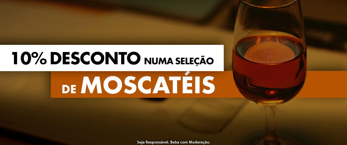 10% desconto em vinho Moscatel