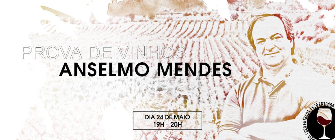 Prova de vinhos Anselmo Mendes