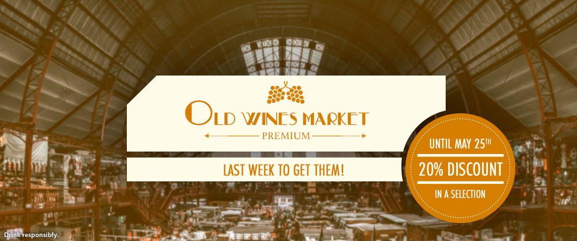 Old Wines Market 20% discount