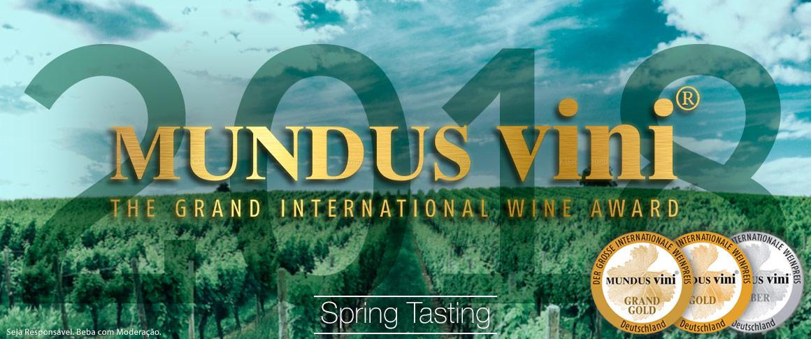 Mundus Vini Spring Tasting 2018
