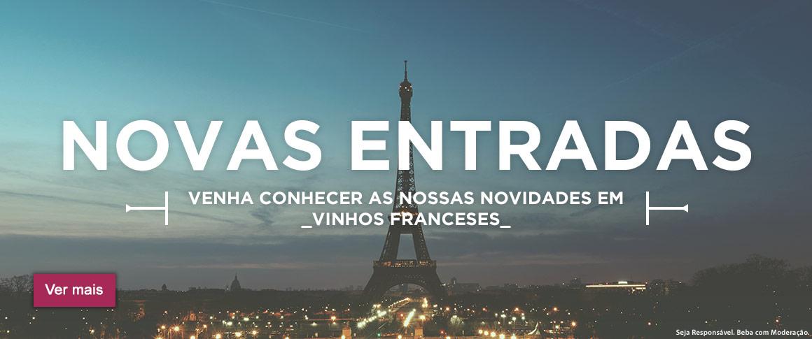 Novas entradas - Vinhos Franceses