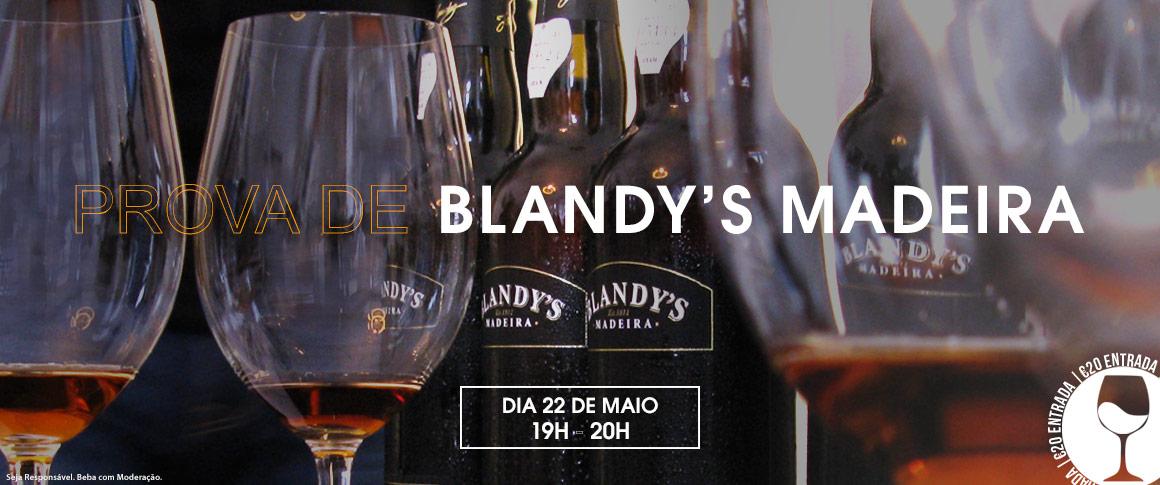 Prova de vinhos Blandy's Madeira
