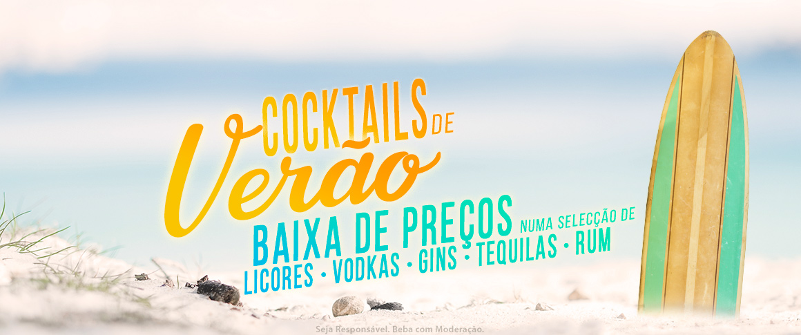 Baixa de preços - Gins, Tequilas, Runs, Vodkas, Licores